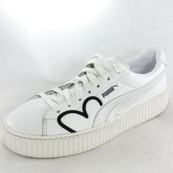timeless design 8a95f 77f6c RARE Puma x Fenty Clara Lionel Creeper White Shoes